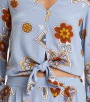Odd Molly - cruising around blouse - DOVE BLUE