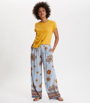 Odd Molly - cruising around pants - DOVE BLUE