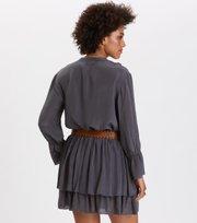 Odd Molly - i-escape blouse - ASPHALT