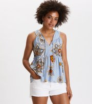 Odd Molly - cruising around s/l top - DOVE BLUE