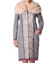 Odd Molly - aconcagua pearl knit coat - MID GREY MEL