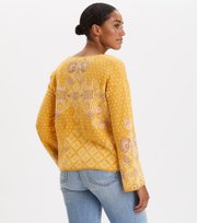 Odd Molly - Entanglement Sweater - SUNSET YELLOW