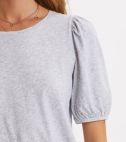 Odd Molly - Sweet Monster Top - LIGHT GREY MELANGE