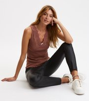 Odd Molly - Rib-Eye Tank - RED TAUPE