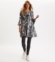 Odd Molly - Mine Forever Tunic - ASPHALT