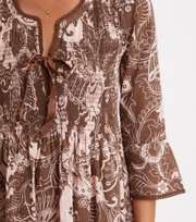 Odd Molly - Mine Forever Tunic - WASHED BROWN