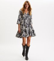 Odd Molly - Mine Forever Dress - ASPHALT