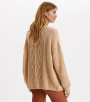 Odd Molly - Novelty Cardigan - SOFT CAMEL