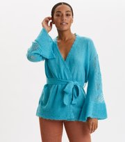 Odd Molly - My New Aesthetic Long Cardigan - OCEAN BLUE