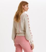 Odd Molly - Oh Wow Cardigan - CHALK