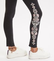 Odd Molly  - Entanglement Leggings - ALMOST BLACK