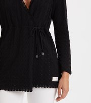 Odd Molly - Wrap Up & Go Long Cardigan - ALMOST BLACK
