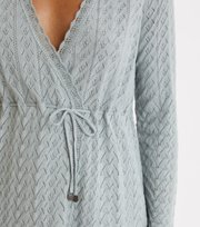 Odd Molly - Wrap Up & Go Long Cardigan - MISTY OCEAN