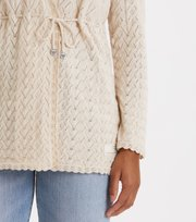 Odd Molly - Wrap Up & Go Long Cardigan - LIGHT PORCELAIN