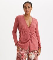 Odd Molly - Wrap Up & Go Long Cardigan - DUSTY STRAWBERRY