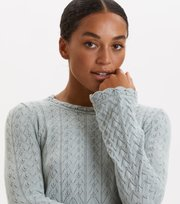 Odd Molly - Wrap Up & Go Sweater - MISTY OCEAN