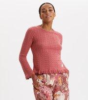 Odd Molly - Wrap Up & Go Sweater - DUSTY STRAWBERRY