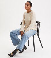 Odd Molly - Wrap Up & Go Sweater - LIGHT PORCELAIN