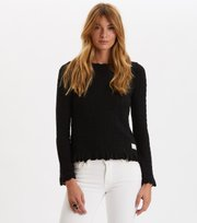 Odd Molly - Wrap Up & Go Sweater - ALMOST BLACK