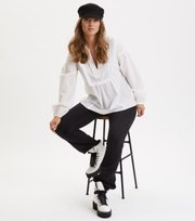 Odd Molly  - Puff-Puff Blouse - BRIGHT WHITE