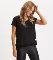 Odd Molly - Casually Fancy Top - ALMOST BLACK