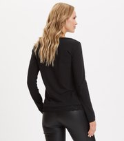 Odd Molly - Casually Fancy L/S Top - ALMOST BLACK