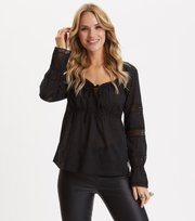 Odd Molly - Still My Love Blouse - ALMOST BLACK
