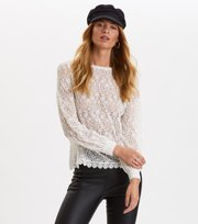 Odd Molly - The Perfect Piece Blouse - LIGHT CHALK