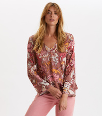 Puzzle Me Together Blouse