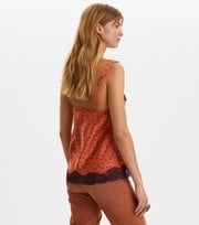 Odd Molly  - Hello New Love Slip Tank - SUNSET ORANGE