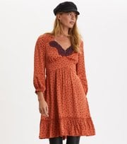 Odd Molly - Hello New Love Dress - SUNSET ORANGE