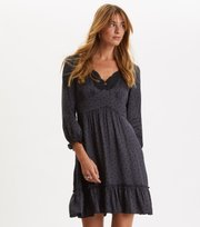 Odd Molly - Hello New Love Dress - ALMOST BLACK