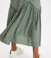 Odd Molly - Puzzle Me Together Skirt - CARGO GREEN