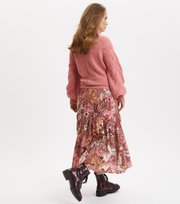 Odd Molly - Puzzle Me Together Skirt - RED TAUPE