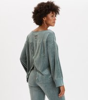 Odd Molly - Hygge Sweater - CARGO GREEN