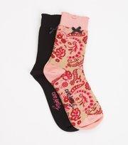 Odd Molly - Socky Sock - PINK PEONY