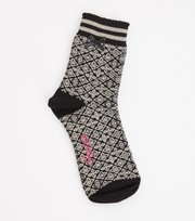 Odd Molly - Socky Sock - BLACK TILE