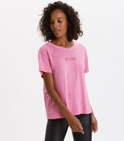 Odd Molly - Let's Begin T-shirt - SPARKLING CERISE