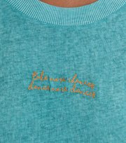 Odd Molly - Let's Begin T-shirt - VINTAGE TURQUOISE