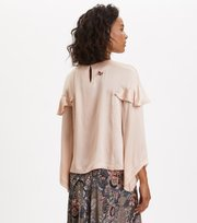 Odd Molly - Shine With Confidence Blouse - PINK SAND