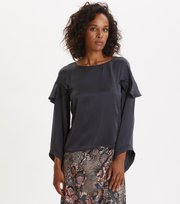 Odd Molly - Shine With Confidence Blouse - MIDNIGHT BLACK