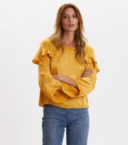 Odd Molly  - Shine With Confidence Blouse - OCHRE