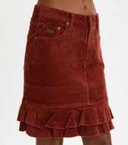 Odd Molly - Power Hour Skirt - RUSSET BROWN