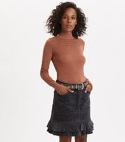 Odd Molly - Power Hour Skirt - MIDNIGHT BLACK
