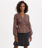 Odd Molly - For The Love Of Lust Blouse - ALMOST BLACK