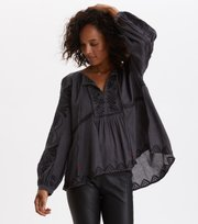 Odd Molly  - The Way I Like It Blouse - ALMOST BLACK