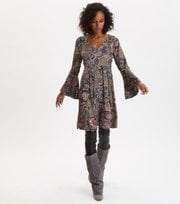 Odd Molly - Extravaganca Tunic - WALNUT BROWN