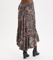 Odd Molly - Extravaganca Wrap Skirt - WALNUT BROWN