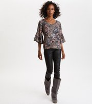 Odd Molly - Extravaganca Blouse - WALNUT BROWN