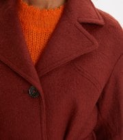 Odd Molly - Lengthy Beaut Coat - RUSSET BROWN
